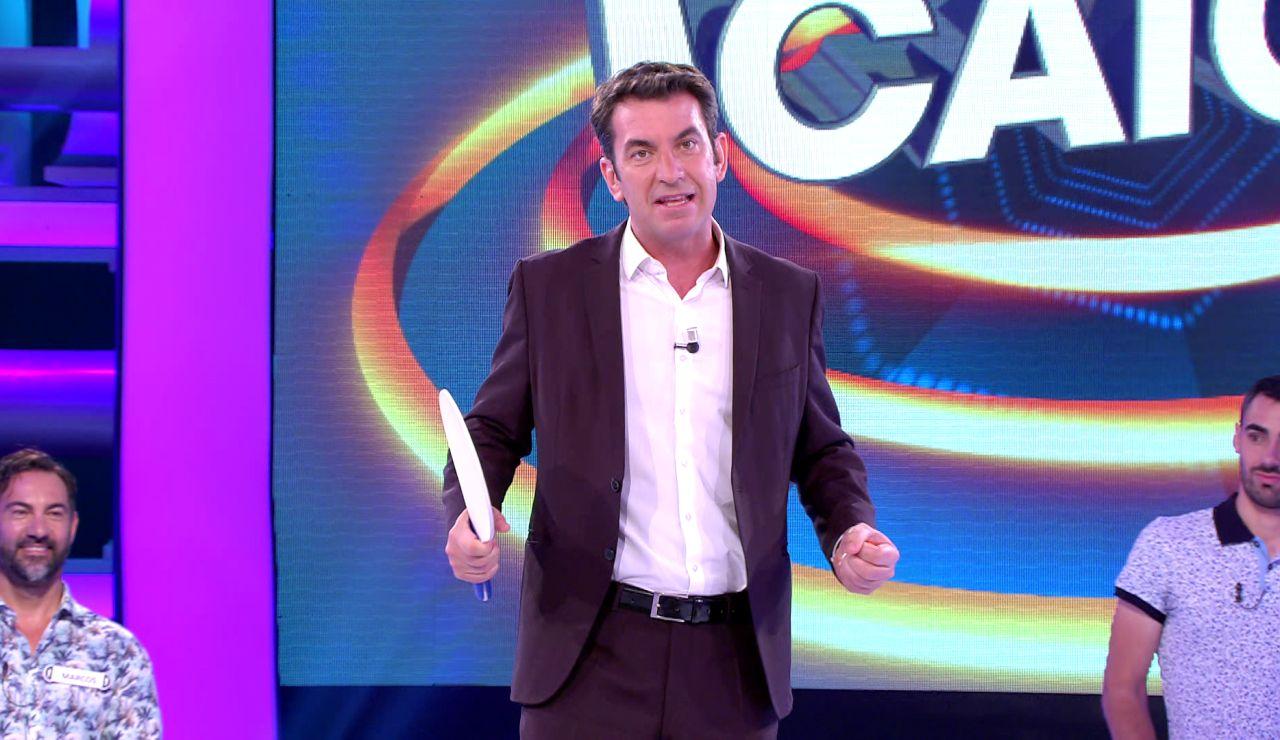 El gesto de Arturo Valls con un rival que demuestra lo competitivo que es: así lo ha contado en '¡Ahora caigo!'