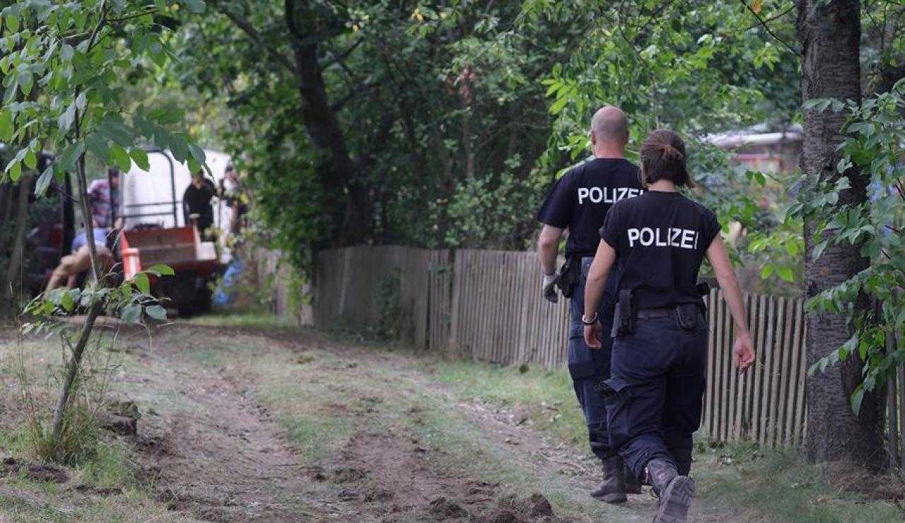 La policía alemana encuentra un sótano oculto en la parcela en la que se busca a Madeleine McCann