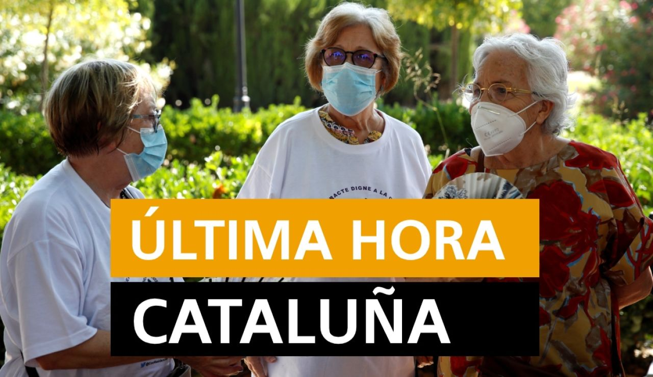 Cataluña: Última hora de los rebrotes de coronavirus y últimas noticias de hoy miércoles 29 de julio, en directo