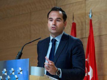 El vicepresidente de la Comunidad de Madrid, Ignacio Aguado,