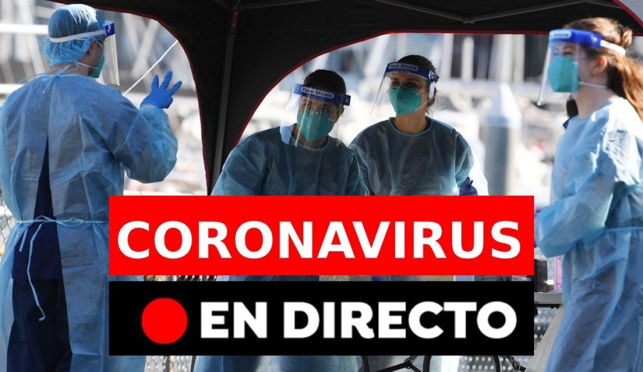 Coronavirus última hora | Rebrotes y últimas noticias de hoy en España, en directo