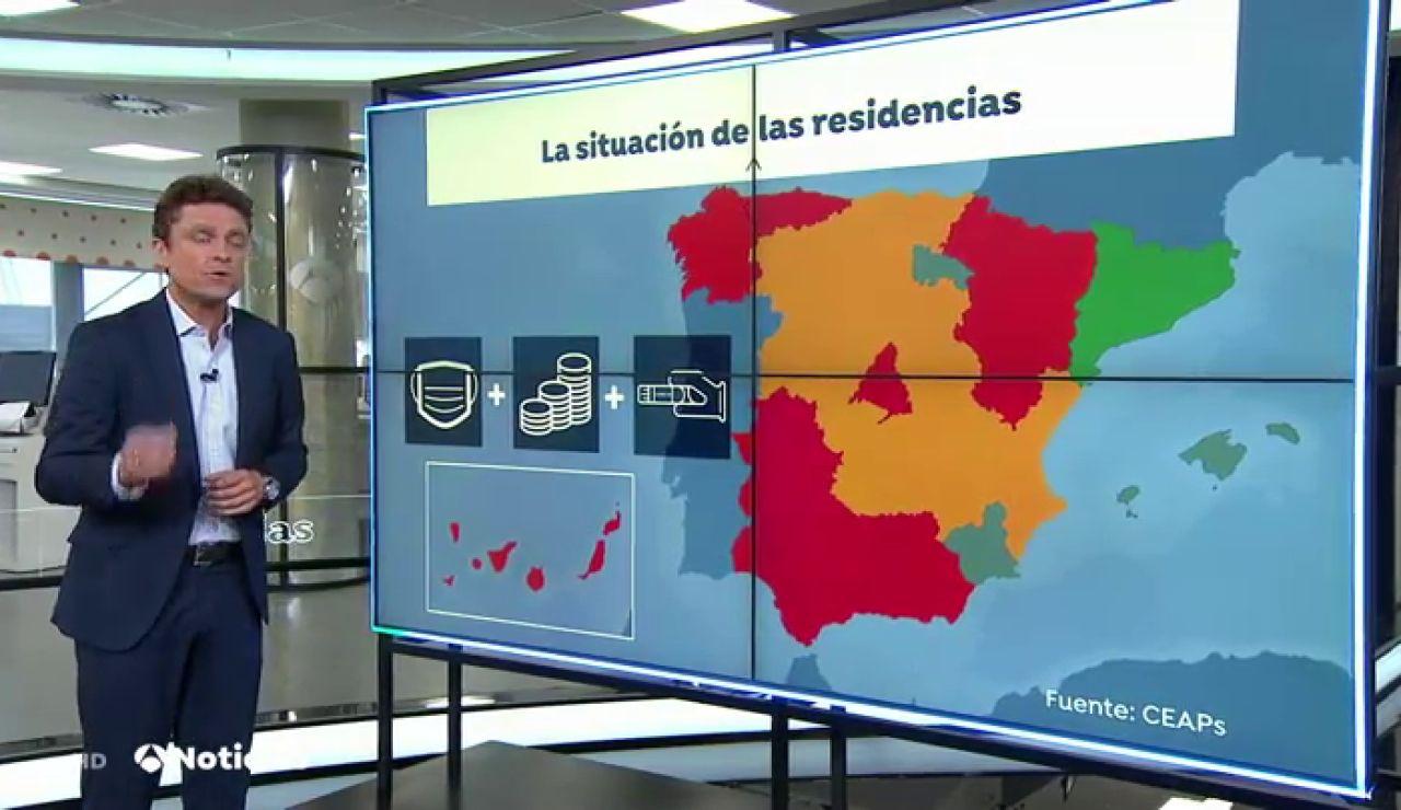 La mayoría de las residencias de España no están preparadas para una segunda oleada del coronavirus, según un estudio