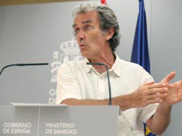 """Fernando Simón niega que España sufra una segunda ola de coronavirus: """"Estos brotes, ahora mismo, representan brotes"""""""