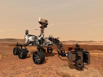 El rover 'Perseverance' pisará hoy suelo de Marte