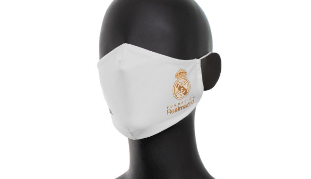 El Real Madrid lanza una serie limitada de 20.000 mascarillas solidarias contra el coronavirus