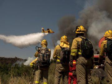 El incendio de Cualedro (Ourense)