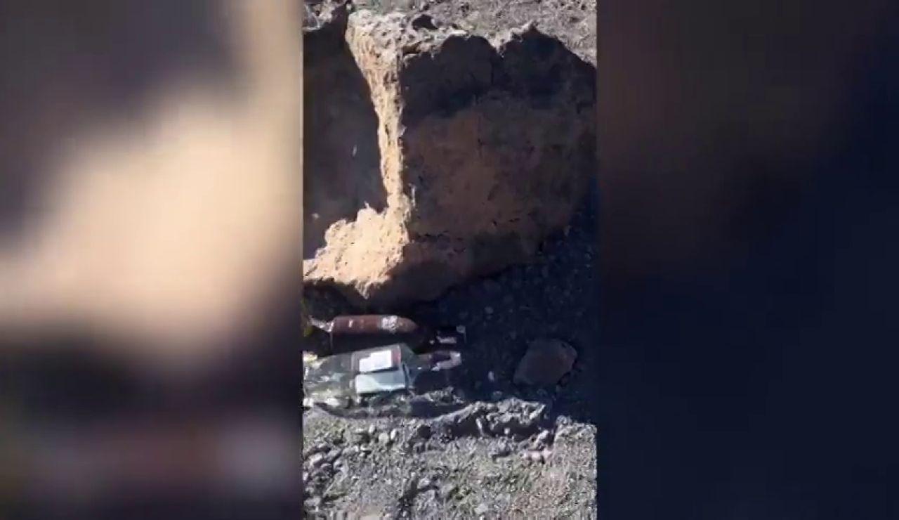 Cientos de usuarios denuncian en redes sociales botellones en el Parque Nacional del Teide
