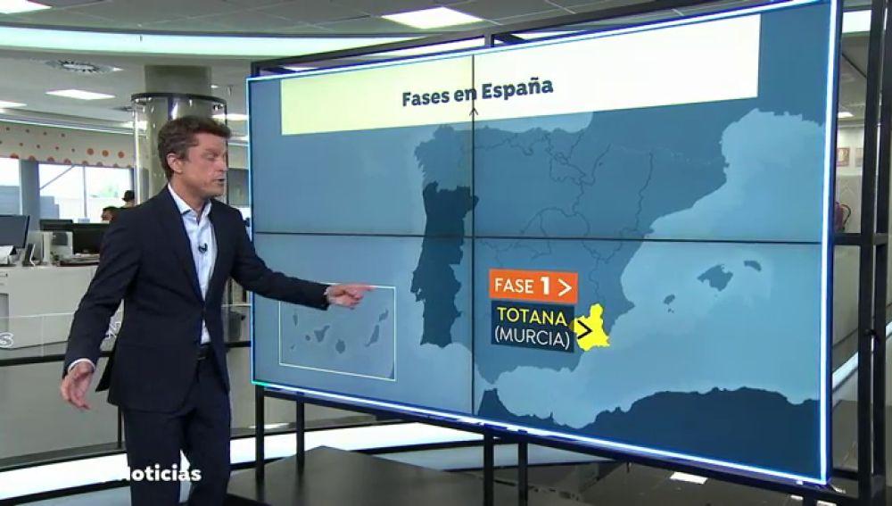Los rebrotes de coronavirus obligan a volver a las fases de la desescalada a varias regiones españolas