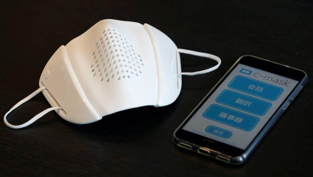 Desarrollan una mascarilla inteligente capaz de traducir hasta 8 idiomas diferentes