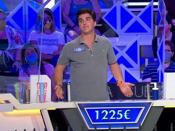 "La divertida deliberación de Pablo en 'La ruleta de la suerte': ""Imagínate esto Jorge"""