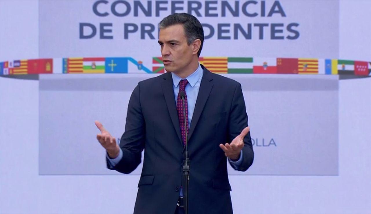 """Pedro Sánchez apela a la unidad para abordar la """"recuperación económica"""" tras el coronavirus"""
