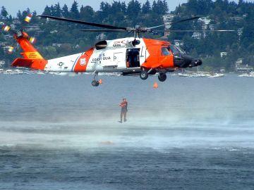 Avión de la Guardia Costera en EEUU