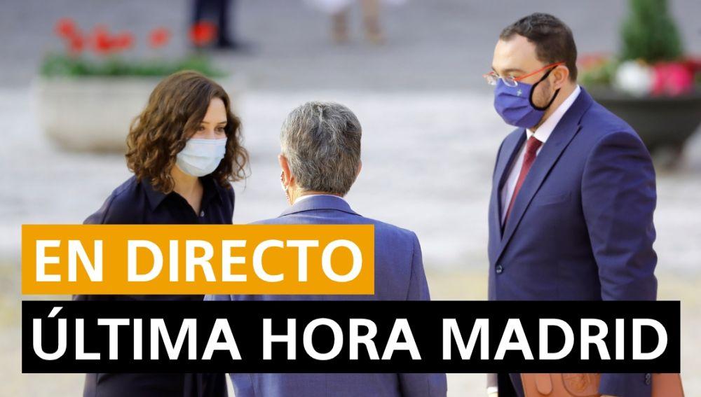Madrid última hora: Últimas noticias de Madrid hoy, en directo