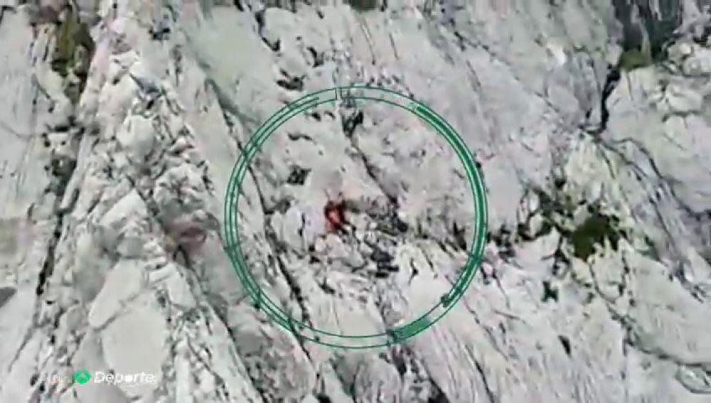 Muere un montañero tras sufrir una caída de 60 metros en Cantabria
