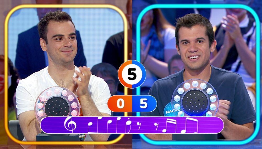 ¡A la primera! Nacho triunfa al ritmo de 'This love' en su duelo contra Pablo