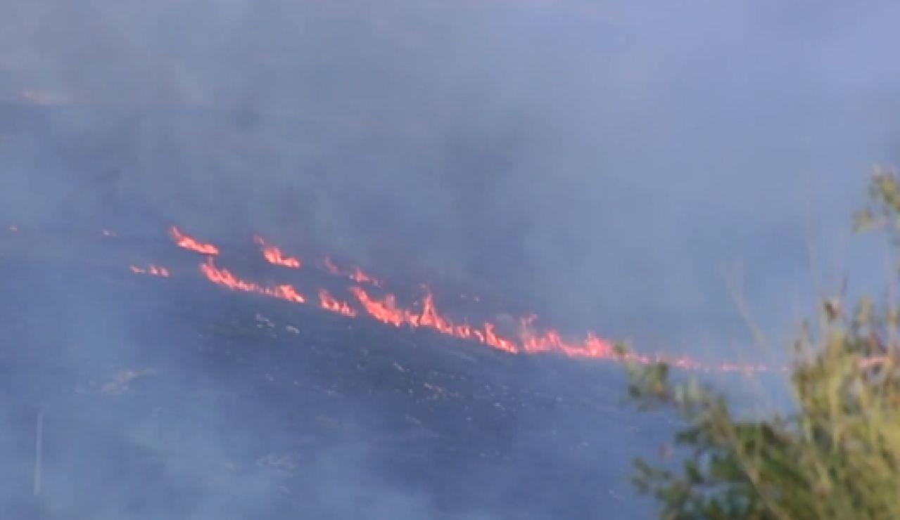 Más de mil hectáreas arrasadas en el incencio de Ourense