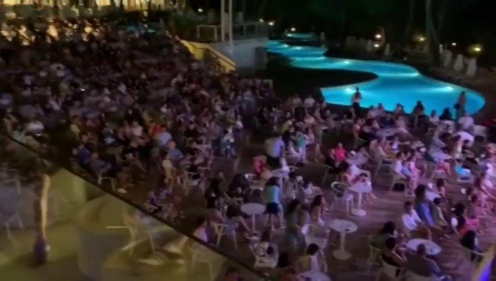 El preocupante espectáculo en un hotel de Mallorca antes del rebrote de coronavirus entre los empleados