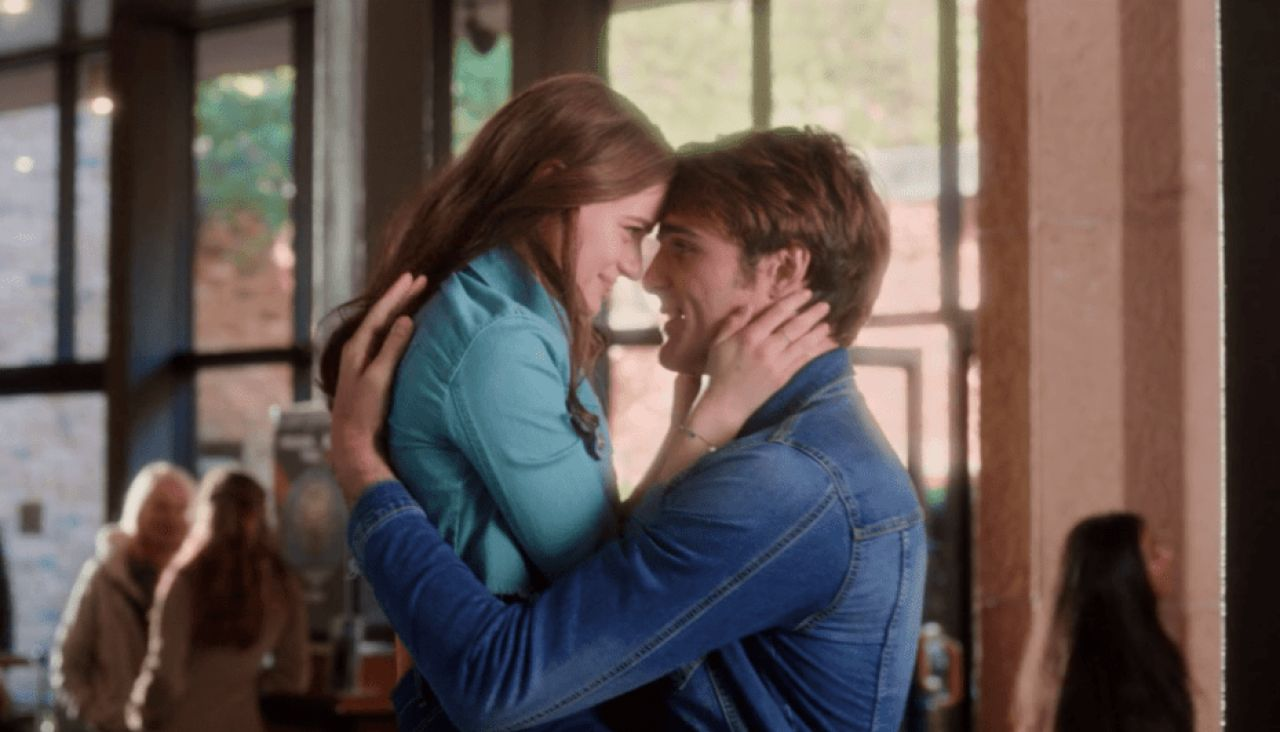 Joey King y Jacob Elordi en 'Mi primer beso 2'