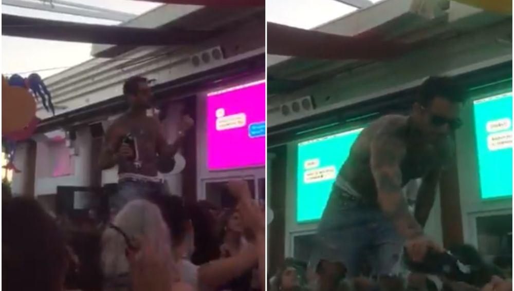 Las preocupantes imágenes de una fiesta en Torremolinos en la que todos beben de la misma botella