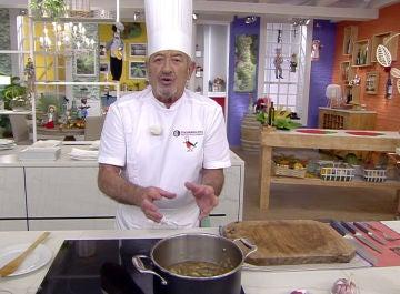 Receta de salsa española de Karlos Arguiñano