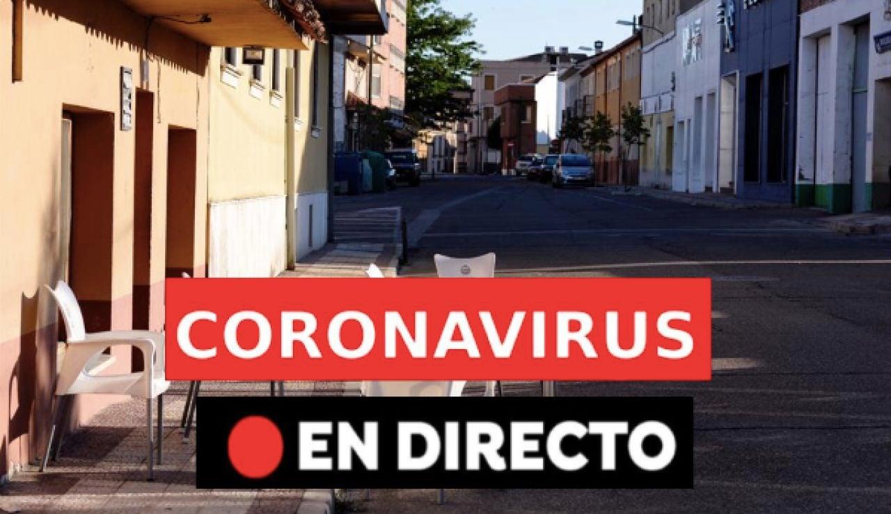 Coronavirus España: últimas noticias de hoy, rebrotes y contagios, en directo