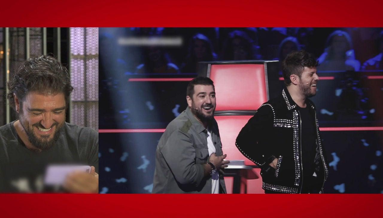 La divertida reacción de Antonio Orozco al recordar sus momentazos con Pablo López