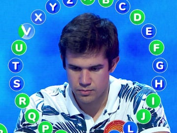 Nacho, concursante de 'Pasapalabra', se enfrenta a 'El Rosco'