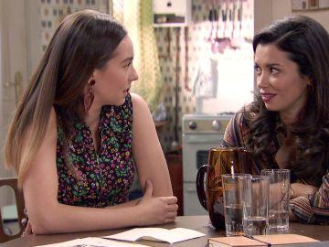 Luisita y Amelia, ante el dilema de traicionar a Isabel para conseguir la adopción de Teo