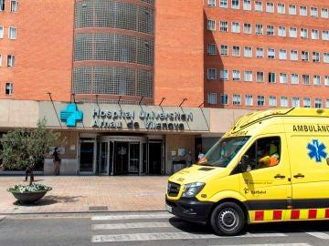 Vista del hospital Arnau de Vilanova de Lleida