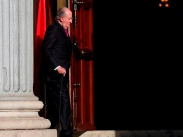 El rey emérito Juan Carlos I