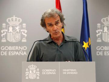"""Fernando Simón, sobre los rebrotes de coronavirus: """"No estamos en una situación especialmente grave"""""""