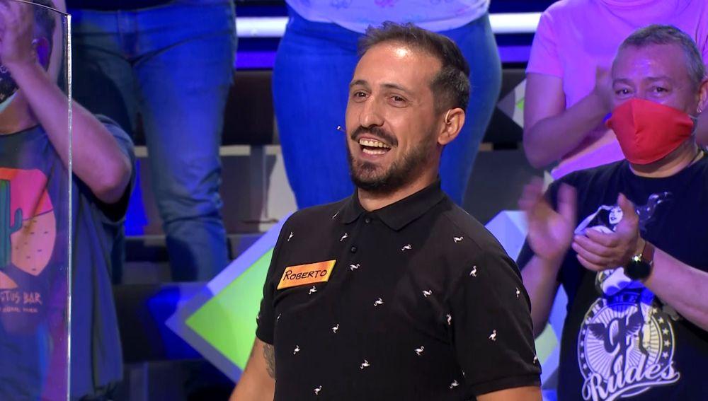 ¡Increíble! La gran suerte de Roberto en el panel con bote de 'La ruleta de la suerte'