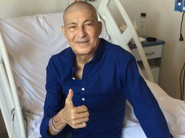 Eduardo Chozas es dado de alta 44 días después de recibir un trasplante de médula
