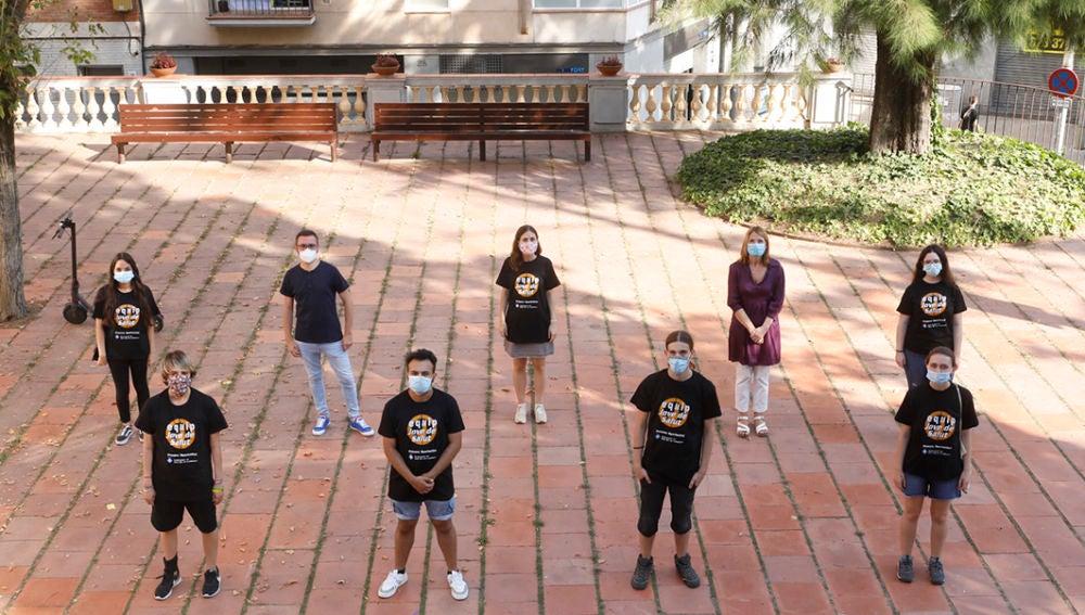 Un grupo de jóvenes recorrerá Sant Boi (Barcelona) para concienciar a la juventud de los riesgos del coronavirus