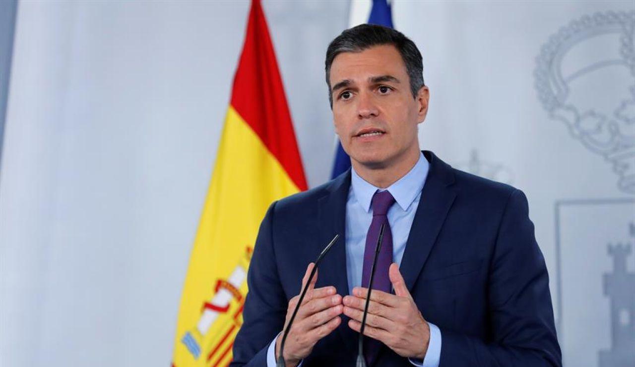 Comparecencia de Pedro Sánchez desde La Moncloa