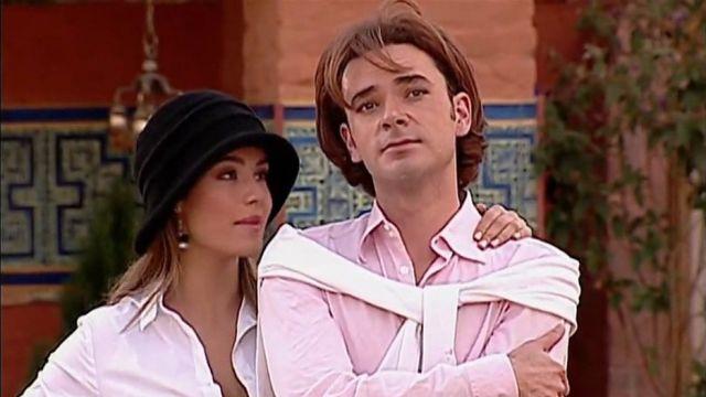 Sebastián Boscán y Ana Lucía Domínguez como Leandro y Ruth en 'Pasión de Gavilanes'