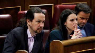 Pablo Iglesias e Irene Montero en una imagen de archivo