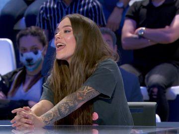 María Isabel presenta en 'Pasapalabra' su nuevo tema 'Esa carita'