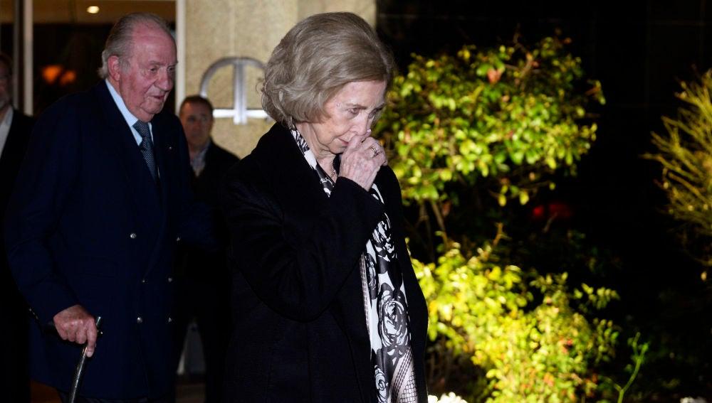 La reina Sofía y el rey Juan Carlos I