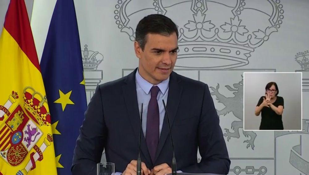"""Pedro Sánchez resta importancia a las discrepancias con Podemos: """"Los despachos con el rey son confidenciales y cada partido tiene sus opiniones"""""""