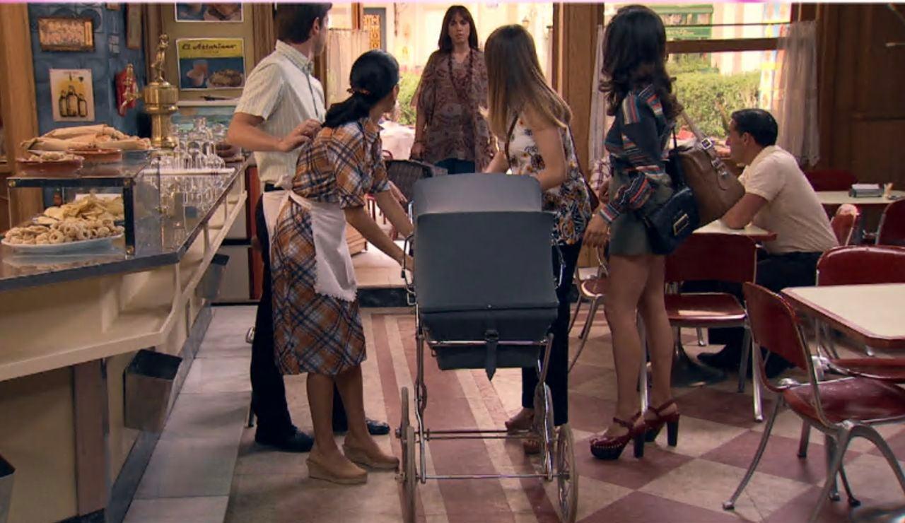 """Avance de """"Amar es para siempre"""": Una visita inesperada disipará todos los planes de Luisita y Amelia"""
