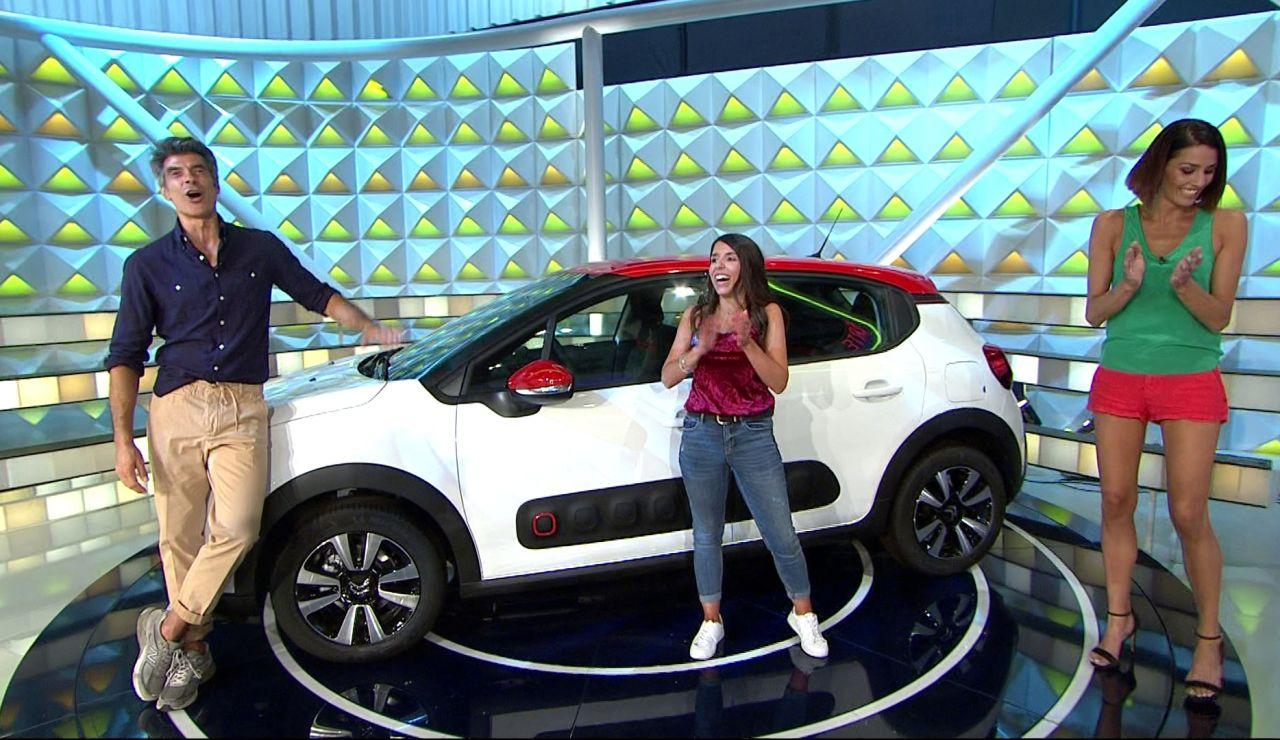 ¡Épico momento en 'La ruleta de la suerte'! Una concursante por fin consigue llevarse el coche  tras resolver el último panel con mucha intuición