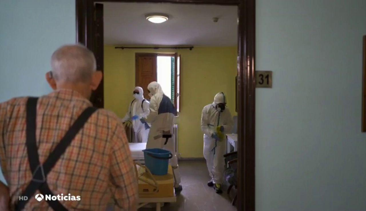 Una residencia de ancianos en San Martín de la Vega (Madrid) registra un brote de coronavirus con 47 casos