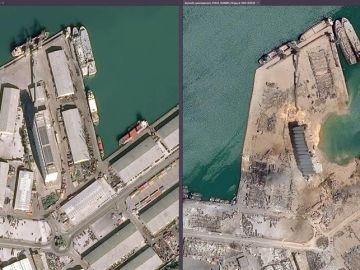Investigan el origen de las explosiones en Beirut