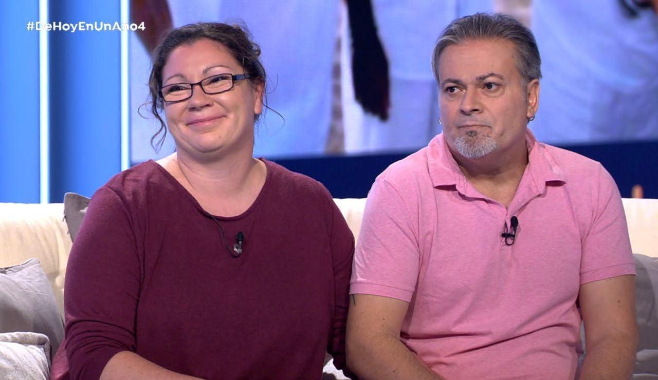 La felicidad completa para Natasha y Juanmi sería ser padres