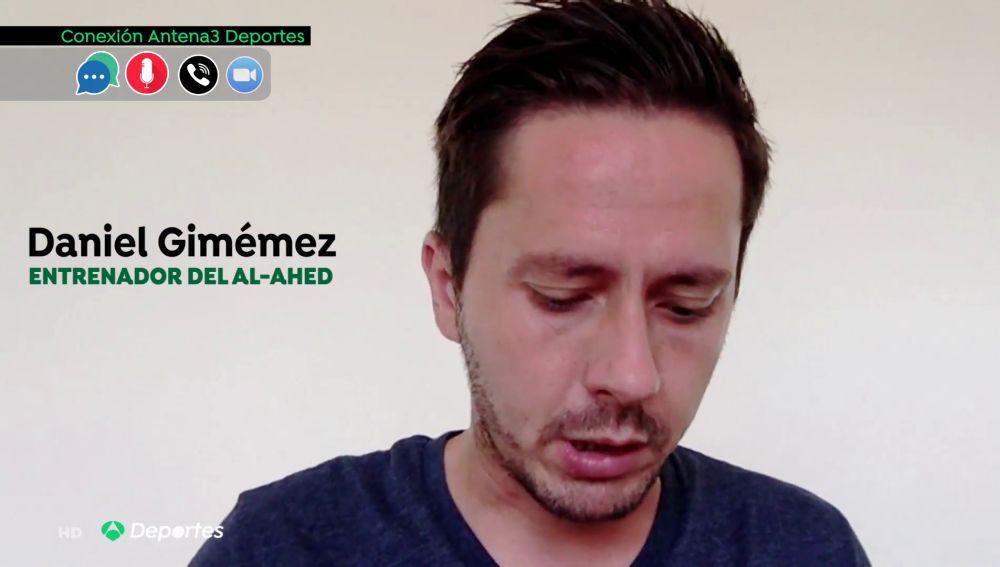 """Así vivió Daniel Giménez, entrenador del Al Ahed de Beirut, la explosión: """"He visto cuerpos, gente mutilada..."""""""