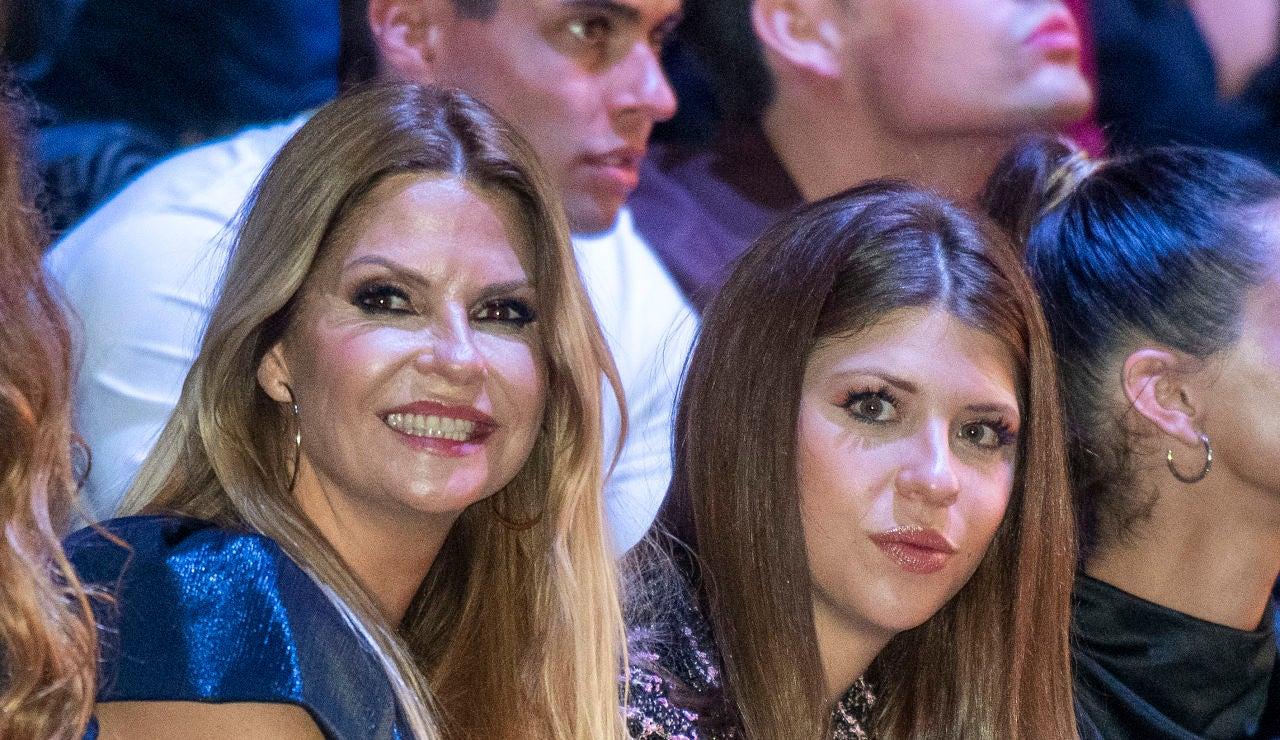 Makoke y su hija Anita Matamoros