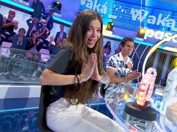 ¡Qué barbaridad! María Isabel levanta pasiones como Shakira en 'La Pista'