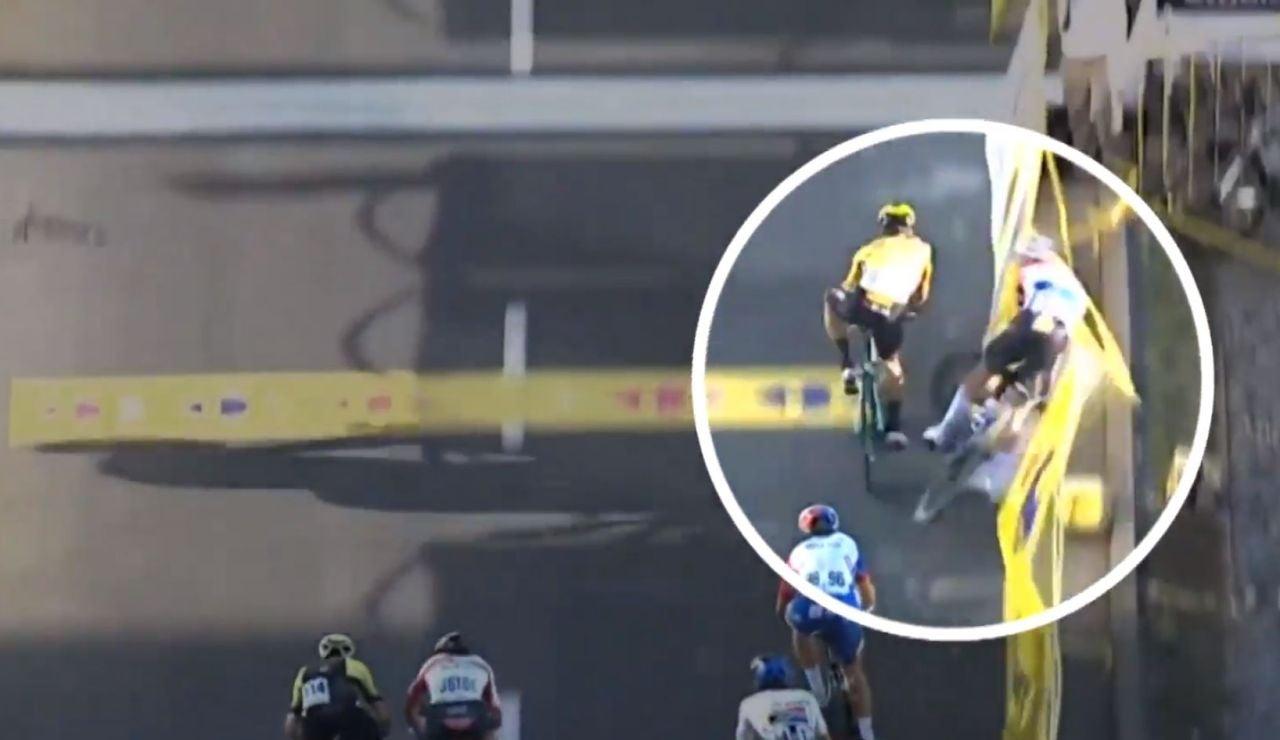 Jakobsen, ciclista del equipo Quick-Step, en coma inducido tras una terrible caída en el Tour de Polonia