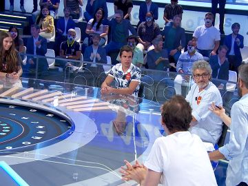 Nacho se solidariza con María Isabel tras el spoiler de David Fernández en 'Pasapalabra'